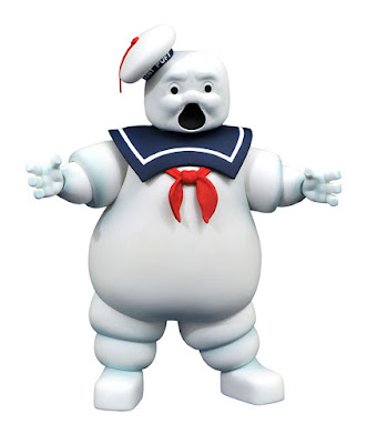 New York Comic Con 2019 Exclusive Real Ghostbusters Scared Edition Mr. Stay-Puft, the Marshmallow Man Action Figure by Diamond Select Toys