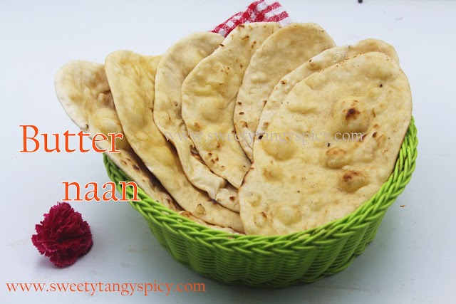 Butter naan Recipe | Butter naan without yeast and Without Tandoor | Homemade Soft Butter naan Recipe