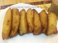 BANANA FRITTERS WITH WHEAT FLOUR/ EGGLESS
