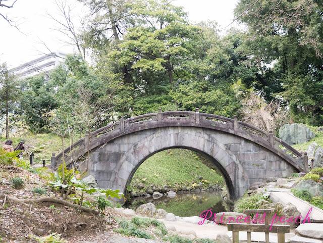 小石川後樂園圓月橋