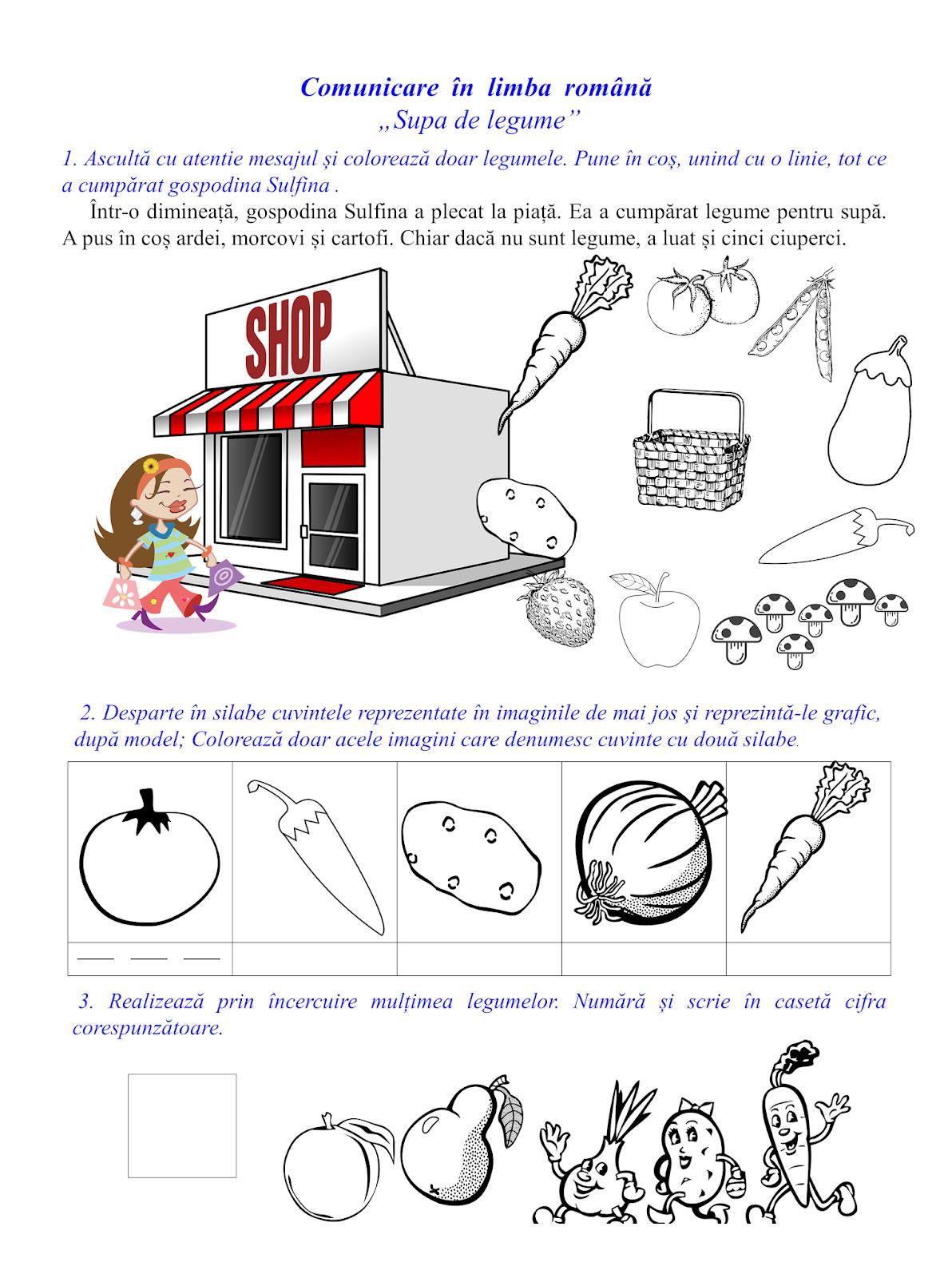 """Supa de legume""-elemente grafice"