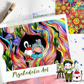 Psychedelic Art Adalah