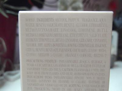 Armani Sì parfumovaná voda pre ženy zloženie