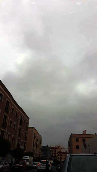 Fuertes lluvias en Arucas Gran Canaria y sin avisar, octubre 2018