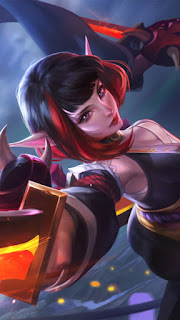 Karina Spider Lily Heroes Assassin Mage of Skins V1