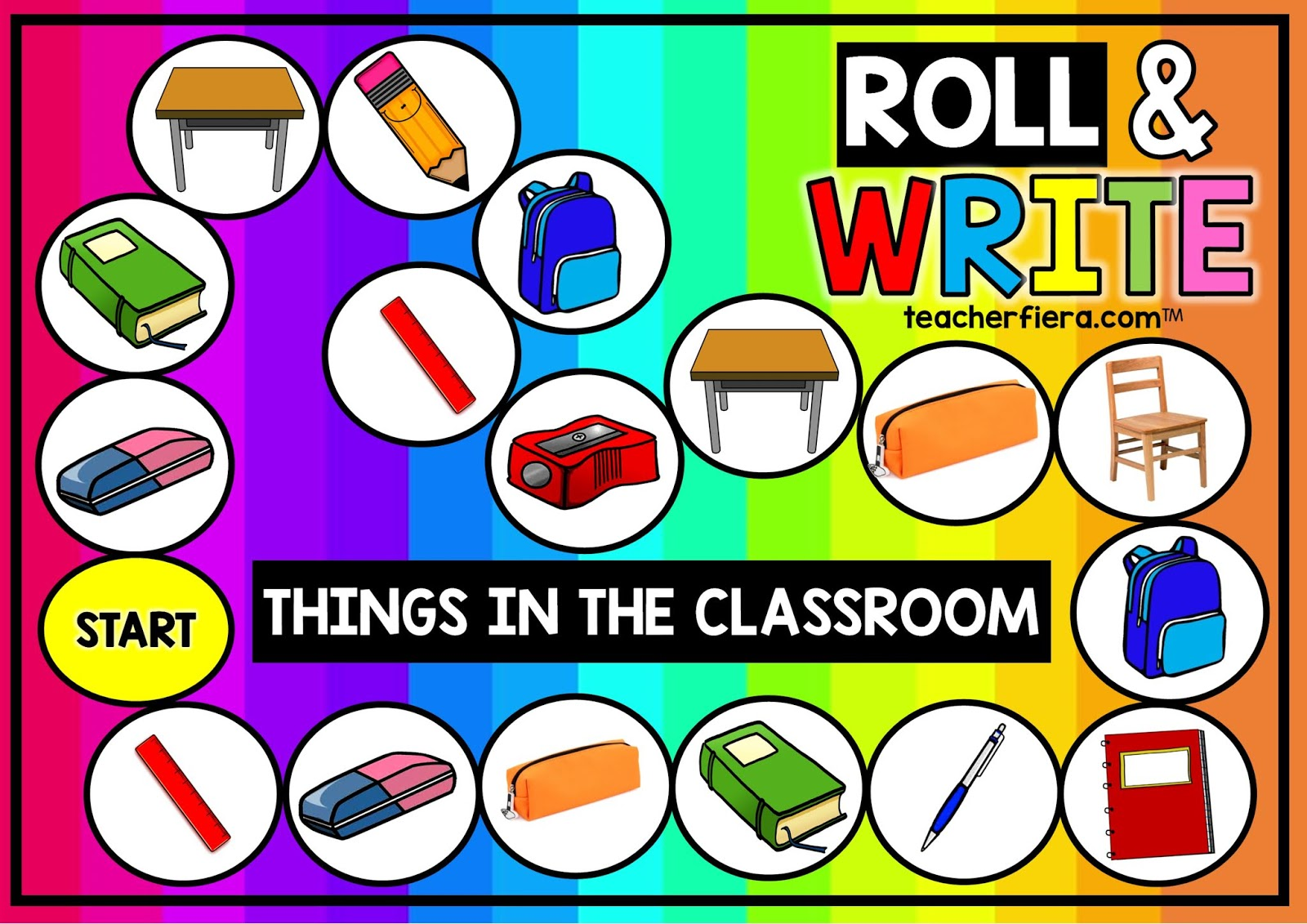 Teacherfiera Year 1 Unit 1 Things In My