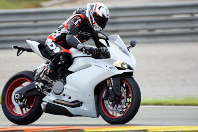 2016 Ducati 959 Panigale Super Bike in racing track