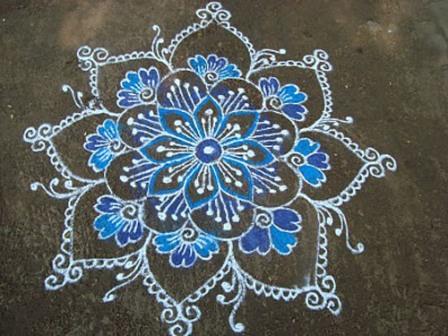 Simple Rangoli Designs for Beginners