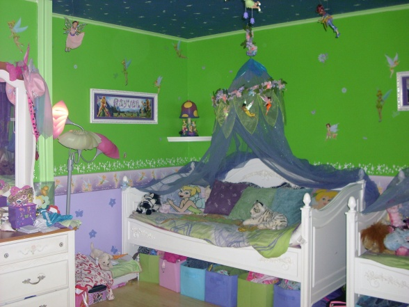 Tinkerbell Bedroom Decorations