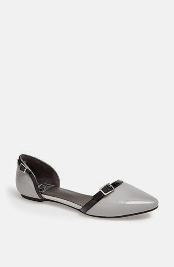 Jeffrey Campbell flat in gray