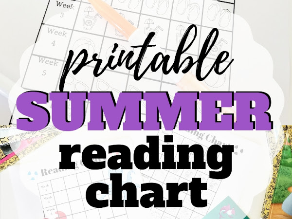 Simple Summer Reading Chart to Celebrate Summer