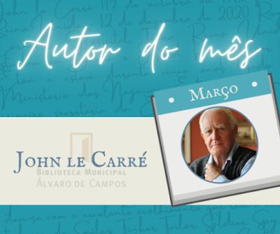 Autor do mês de Março, John Le Carré
