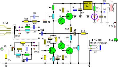 Class-A Headphone Amplifier Circuit