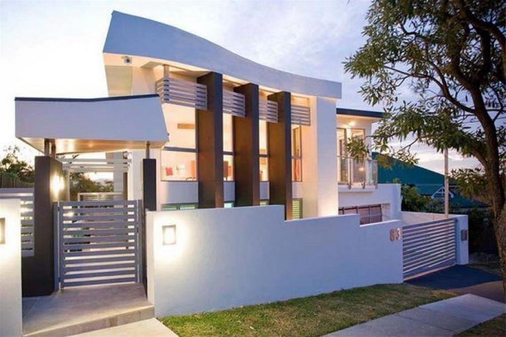 Fotos de casas im genes casas y fachadas for Imagenes de casas modernas negras
