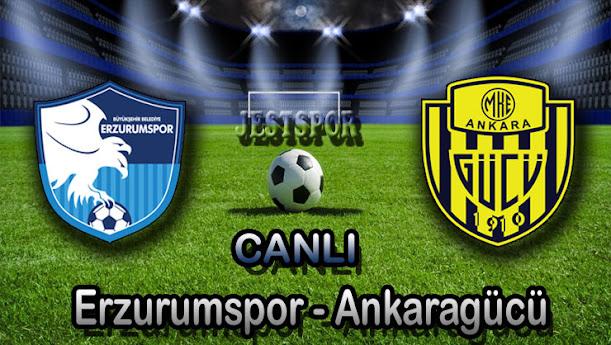 Bşb Erzurumspor - Ankaragücü Jestspor izle