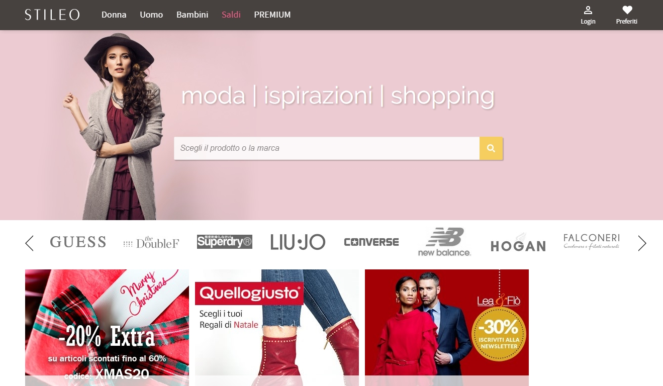 1d300b9e714d Shopping online  Stileo!