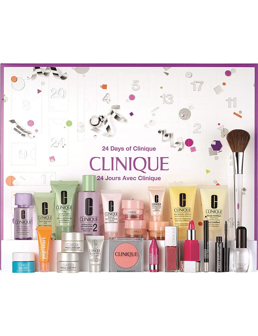 Ana Maddock- 24 Days of Clinique advent calendar