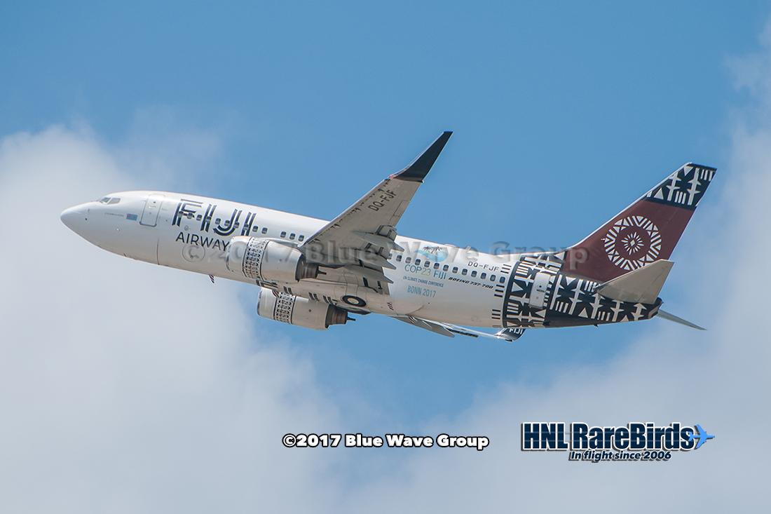 Fiji Airways Dq Fjf