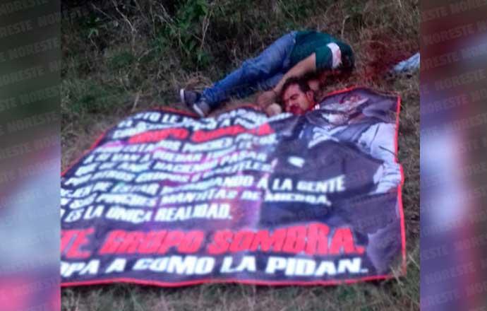 """Sicarios de """"Gurpo Sombra"""", dejan a ejecutado y decapitado a hombre en Veracruz"""