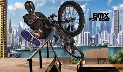 تحميل لعبة BMX for boys اخر اصدار للاندرويد