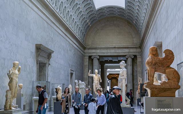 acervo Greco-Romano do Metropolitan Museum de Nova York