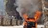 Live video Uttarkashi- उत्त्तरकाशी : चलती कार बनी आग का गोला