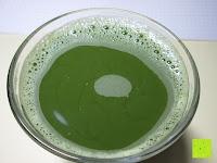 Tee im Glas: 100g Original Japanischer BIO Matcha Pulver aus Uji Japan - Für Grüntee-Latte, Coldbrew Matcha, Smoothies, Backen. 0,16/Portion