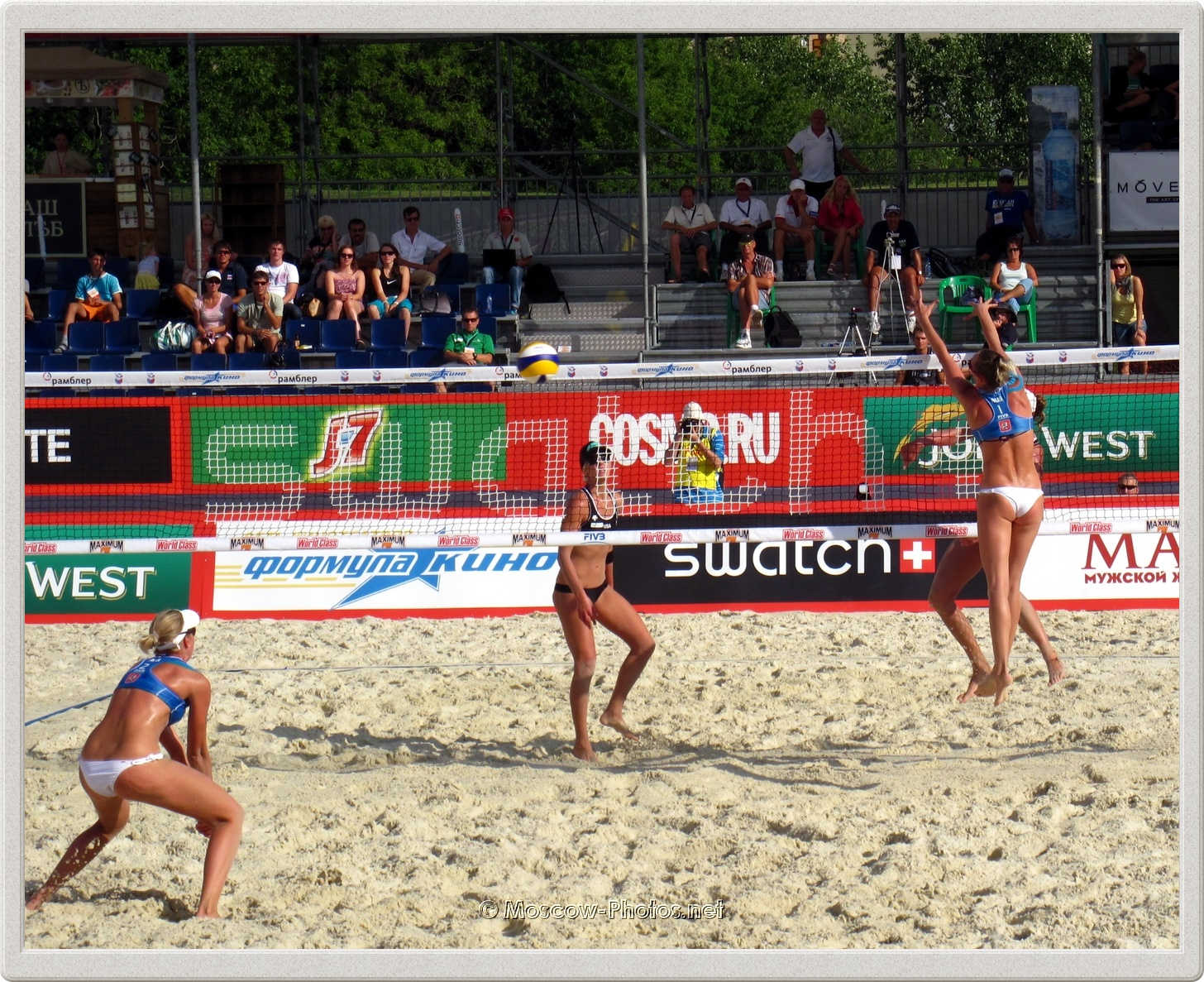 FIVB Beach Volleyball Swatch World Tour Moscow