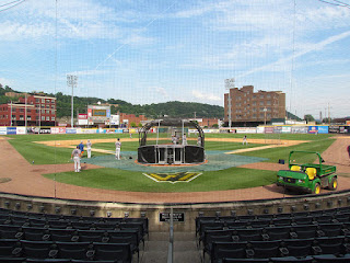 Home to center, Appalachian Power Park