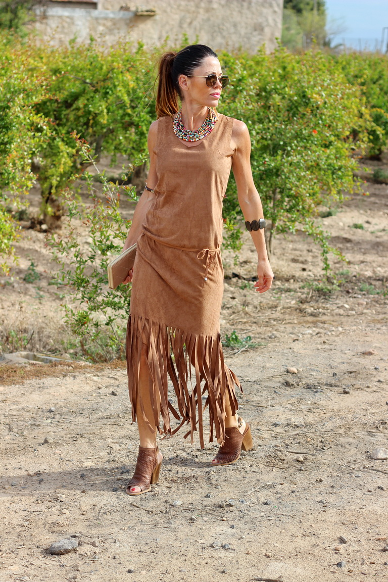 Indie, hippie, streetstyle, calzados Sandra, tendencia flecos, tendencias 2016, bbeautiful by maría, fashion blogger