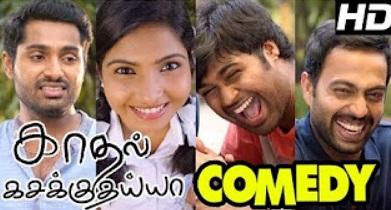 Kadhal Kasakuthaiya Movie Comedy Scenes | Dhruvva | Venba | Linga | Jayaganesh | Charlie