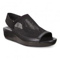 Sandale dama ECCO Tabora 45 (negre)