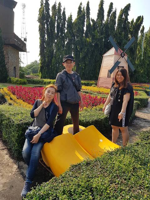 Wisata ke Pattaya--Bangkok Bersama Private Tour Guide Riana