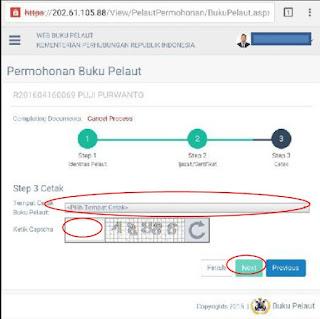 Buku Pelaut Online Di KSOP Tanjung Emas