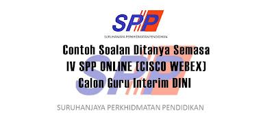 IV SPP ONLINE (CISCO WEBEX) / ( DINI )