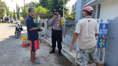 Dukung New Normal, Polres Cilegon Sambangi Kampung Siaga Covid-19