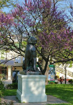 """Статуя """"Львица"""". Горсад, Одесса."""