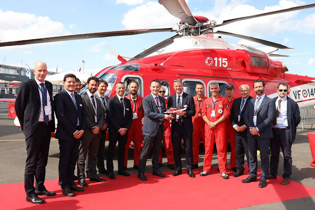 Italian Fire Corps orders five AW139