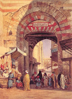 Bazaar's were the original modern markets going back to ancient Persia. today there are millions of markets around the world offering anything and everything