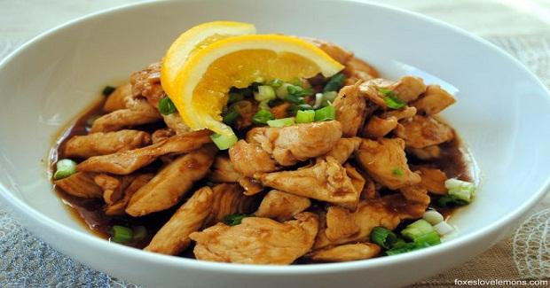 Spicy Orange-Ginger Chicken Recipe