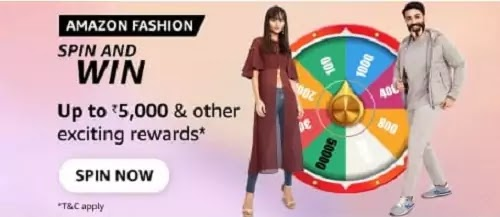 Products from which categories will be on discount during Amazon Fashion - Mega Fashion Days (10th - 12th September)?