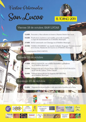 Fiestas de San Lucas 2019. El Torno, Valle del Jerte