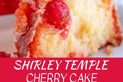 Shirley Temple Cherry Cake