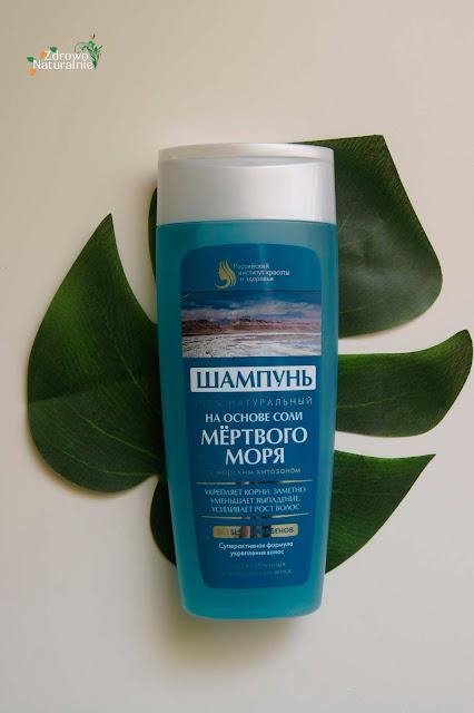 Fitokosmetik - Szampon do włosów z solą z Morza Martwego