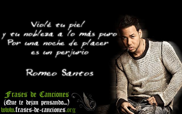 Frases Machistas De La Canción Perjurio De Romeo Santos
