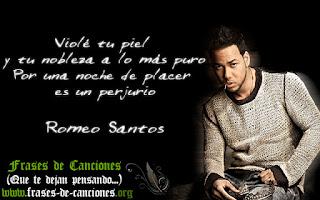 Frases machistas de la canción Perjurio de Romeo Santos cancion violacion