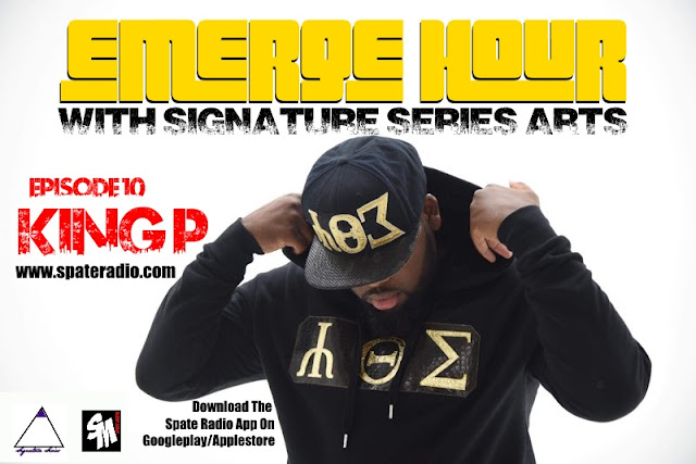 The Emerge Hour With Signature Series Arts & Spate Media Episode 10