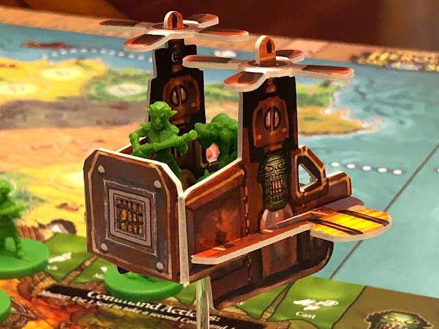 Heroes of Land, Air & Sea Gamelyn Games Order and Chaos Expansion Goblin Chopper; Photo by Benjamin Kocher 2020