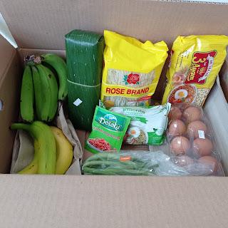 Hasil belanja kebutuhan segar sehari-hari di Sayurbox