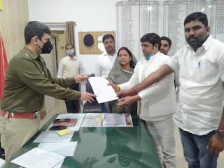 प्रधान संघ ने डी. एम. व एस. पी. को ज्ञापन सौंपा | #NayaSaberaNetwork